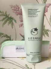 GENUINE Liz Earle Cleanse And Polish Hot Cloth Cleanser With Muslin Cloth 200ml