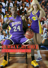 """1/6 NBA Lakers Cheerleader Suit A For PHICEN Hot Toys TBLeague 12"""" Female Figure"""
