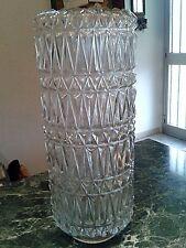 Vetro decorazione geometrica per lampadario vintage anni 1970-Applique-Lamp