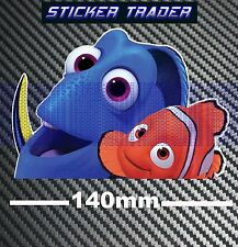 Finding Dory Nemo Sticker Peeper Movie Blueray DVD Decal Car Wall Window Bomb