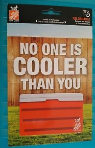 Home Depot COOLER Gift Card, 2020, Collectible, Mint