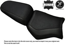 GRIP CARBON BLACK ST CUSTOM FITS YAMAHA MT 03 06-14 FRONT + REAR SEAT COVER