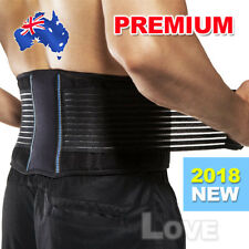 Lumbar & Lower Back Support Belt Brace Strap, Pain Relief, Posture Waist Trimmer