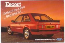 Ford Escort XR3 i Postcard for the UK market Not dated SP180
