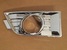 fits 2007-2010 FORD EDGE Front Bumper PASSENGER Chrome Fog Light Lamp Bezel