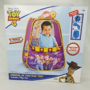 Disney Toy Story 4 Carnival of Toys Play Tent - NEW IN BOX