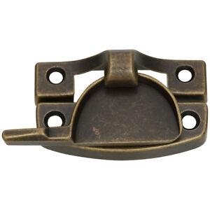 National Hardware N170-761 V601 Sash Lock Antique Brass Die Cast Zinc