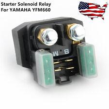 Starter Solenoid Relay Replace For Yamaha YFM 660/350/400 Grizzly Kodiak Raptor