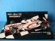 SUPER AGURI HONDA #23 F1 TEAM SA05 IDE 2006 MINICHAMPS 400060023 1/43 FORMULA ON