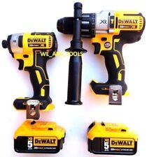 DeWalt DCD996 20V XR 1/2 Hammer Drill, DCF887 Impact, (2) DCB205 Battery 3-Speed