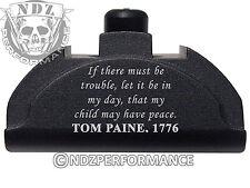 For Glock Gen 4-5 Grip Plug 17 19 22 23 24 32 34 35 BK AL9 Thomas Paine