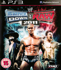 NEW WWE SMACKDOWN VS RAW 2011 FOR PS3 (UK, PAL)