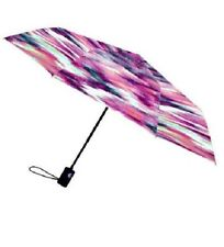 Umbrella - Nicole Miller 42 Inch Auto Open Supermini Pixel 1 Kat Print - New