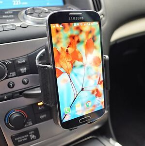 Car Dashboard CD Slot 360° Cell Phone Holder Mount for Samsung Galaxy S8 S9 Note