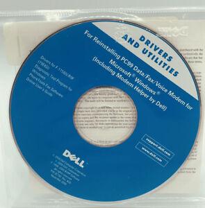 Dell Drivers & Utilities Reinstalling PC99 Data/Fax/Voice Modem Windows 2000 NEW