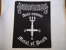DISSECTION ANTI-COSMIC METAL OF DEATH BACK PATCH