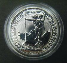2017 Royal Mint 1oz Britannia 20th Anniversary £2 Two Pound .999 Silver coin