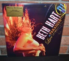 Beth Hart - Live at Paradiso, Limited Import 180G 2LP COLORED VINYL foil #'d NEW
