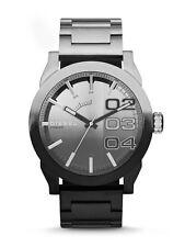 Diesel Double Down White Black Grey Quartz Analog Men's Watch DZ1679