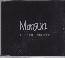 Mansun-Being A Girl Promo cd single