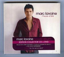 MARC LAVOINE CD + DVD+ LIVRET (NEUF) L'HEURE D'ETE