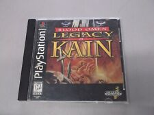 Blood Omen Legacy of Kain Playstation 1 PS1 Very Nice Black Label