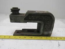 "New listing Unipunch 4Aj2 4"" Throat 2-1/4"" Open ""C"" Frame Punch Unit"