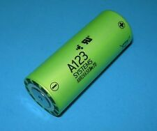 A123 LiFePO4 26650 3.3v 2500mah Rechargeable Battery ANR26650M1B