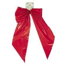 Holiday Trim 18X31 2Lp Red Poly Bow 7257DOZ Unit: EACH Contains 12 per case