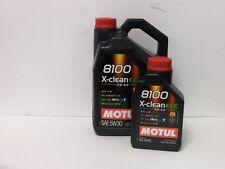 8,97 €/L MOTUL 8100 X-clean EFE 5w30 c2 c3 6 L. MB 229.52 BMW ll-04