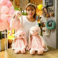 Cute Cartoon Long Ears Rabbit Doll Baby Soft Plush Toys Sleeping Mate New
