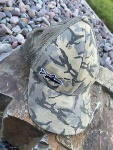 Patagonia Fitz Roy Trout Lopro Trucker Hat - Big Camo / Forest Khaki