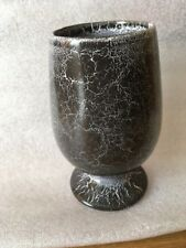 BESWICK GREY CRACKLE EFFECT VASE NUMBER TO BASE 1752