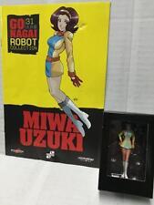 Go Nagai Robot Collection n. 31 Jeeg Robot MIWA UZUKI 8cm Figure + Fascicolo MIB
