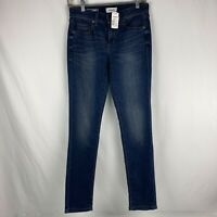 NWT~Sonoma Goods For Life Skinny Mid Rise Stretch Blue Denim Jeans-Size 4