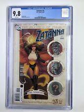 DC's Zatanna #2 CGC 9.8