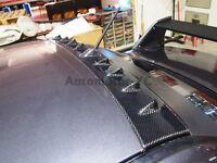 Carbon Vortex Generator Roof Spoiler For 01-07 Mitsubishi Lancer EVO 7 8 9