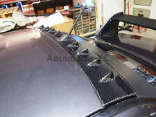 Carbon Vortex Generator Roof Spoiler For 01-07 Mitsubishi Lancer EVO 7 8 9