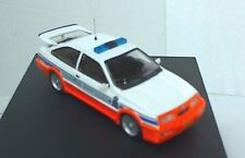 TROFEU REP09 FORD SIERRA COSWORTH model car Gendarmerie Luxemburg Ltd Ed 1:43