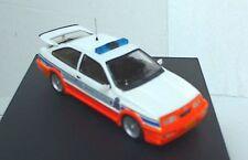 Trofeu REP09 Ford Sierra Cosworth modello auto GENDARMERIA Lussemburgo LTD ED 1:43