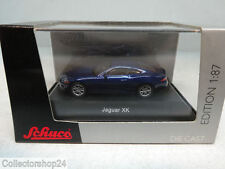 Schuco : Jaguar XK Coupé blau  No: 25512  Scale 1:87
