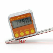 360° Digital Protractor Inclinometer Electronic Level Box Magnetic Angle Gauge