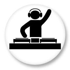 Magnet Aimant Frigo Ø38mm Picto Disque Vynil DJ Platine Music Musique
