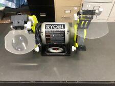 Ryobi Bench Grinder 6 In. 2.1-Amp Heavy Gauge Steel Power Tool