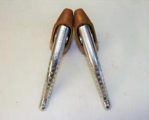~ NOS Campagnolo Super Record Brake Levers with Genuine NOS Hoods ~