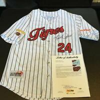 Miguel Cabrera Twice Signed Authentic Tigers Winter League Jersey PSA DNA COA