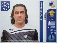 Panini 465 Dionisios Chiotis APOEL Nikosia UEFA CL 2011/12