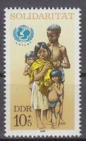 DDR East Germany 1989 ** Mi.3275 Solidarität UNICEF | African Children