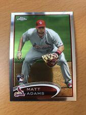Matt Adams Rookie RC 2012 Topps Chrome Silver Refractor SP St Louis Cardinals