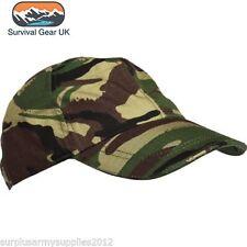Bambini Esercito Cappello Cotone Ripstop MTP BTP DPM Desert URBAN Ragazzi Mimetico pesca Cappello
